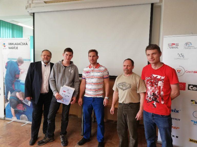 Soutěž mladých obkladačů ovládla Plzeň