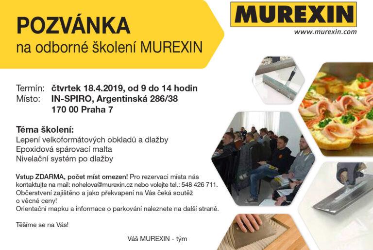 Pozvánka na školení v Praze