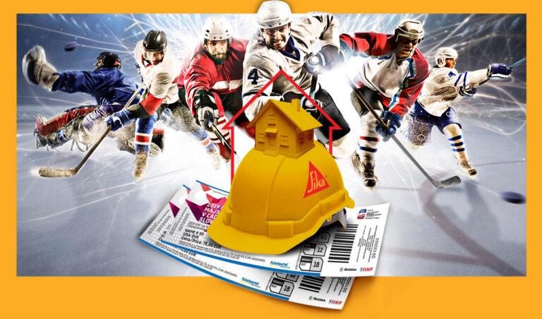 Sika rozdává vstupenky na MS v hokeji