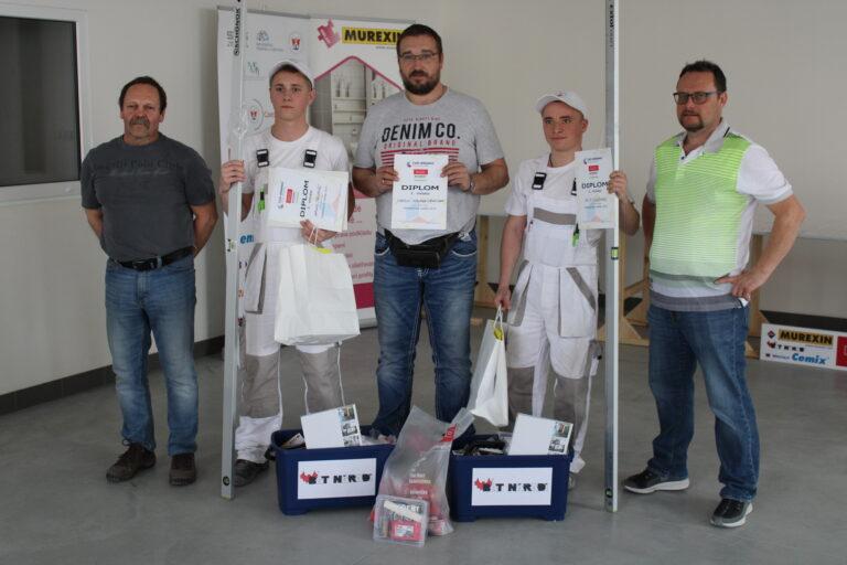 XIV. ročník soutěže mladých obkladačů: Obkladačská naděje