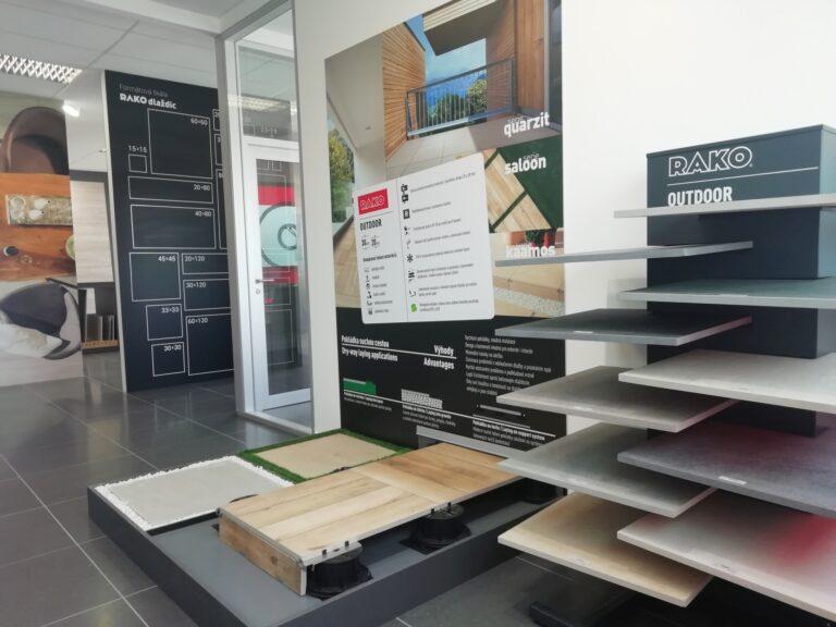 Servis pro architekty v projektových centrech RAKO v MK