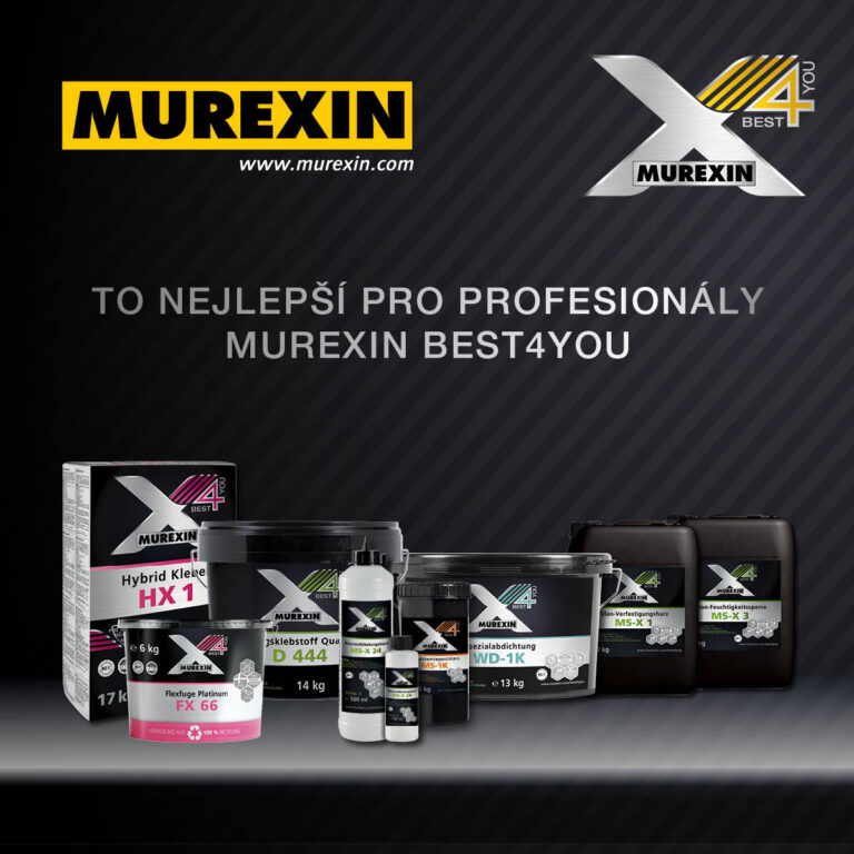 MUREXIN – BEST4YOU!