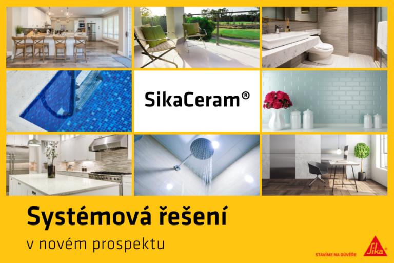 SikaCeram® – systémová řešení pro obklady a dlažby